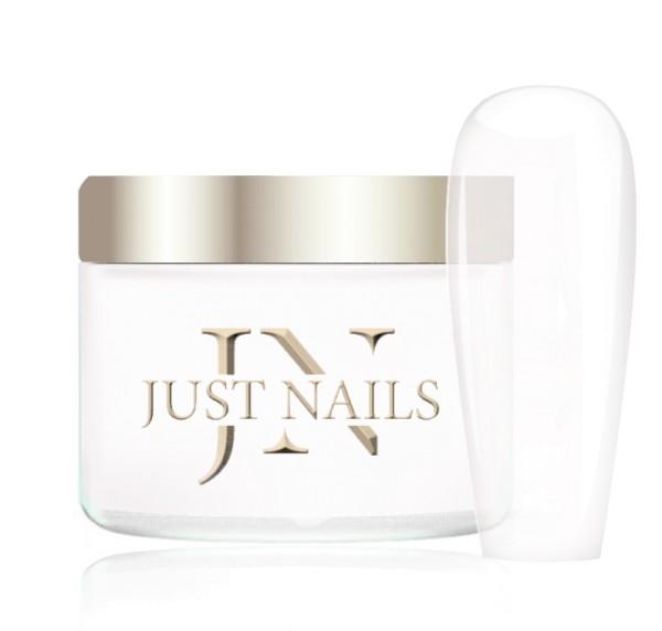 JUSTNAILS Premium Acryl - GLASSY WHITE