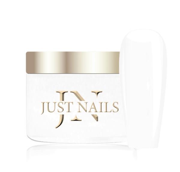 JUSTNAILS Premium Acryl Pulver - WHITE WHITE 12g
