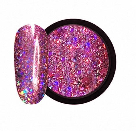 JUSTNAILS Holo-Dream Lipstick Flakes