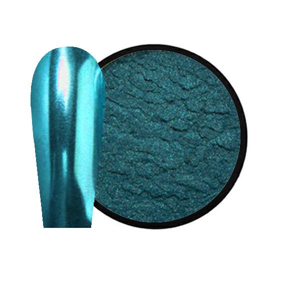 JUSTNAILS Mirror-Glow Nagel Pigment - SKY LABIRINTH