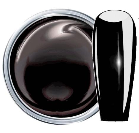 JUSTNAILS Farbgel Premium 3D Plastilin - black