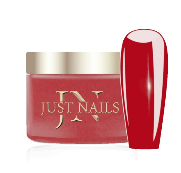 JUSTNAILS Premium Acryl Pulver - READY RED 12g
