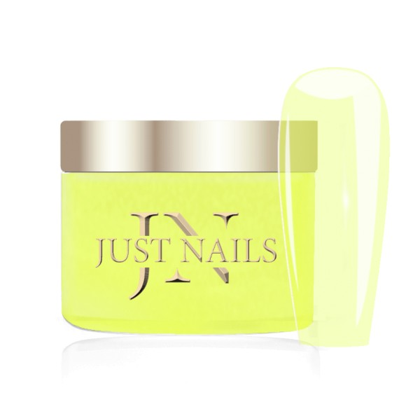 JUSTNAILS Premium Acryl Pulver - TRANSP. FLASH DATE 12g