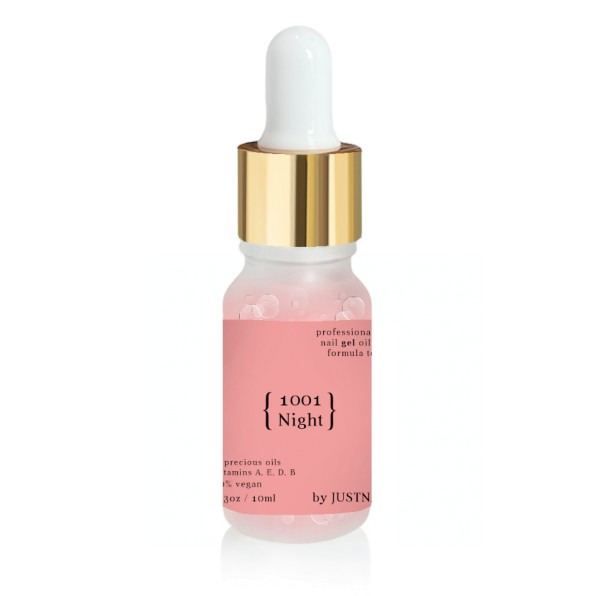 JUSTNAILS Premium Protect GEL Huile pour ongles - 1001 Night 10ml
