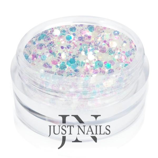 JUSTNAILS Glitter Fabienne