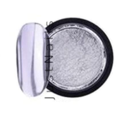 JUSTNAILS Mirror-Glow Nagel Pigment - Silver