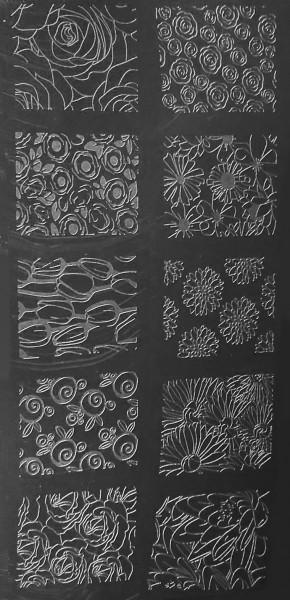 Stamping Schablone M (018)