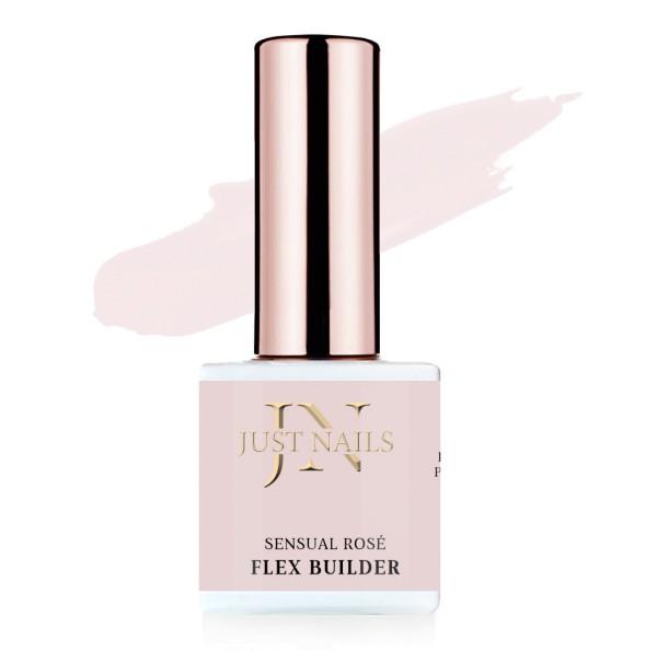 JUSTNAILS Shellac Builder Cover - Sensual Rose - Polish Soak-off Gel 12ml