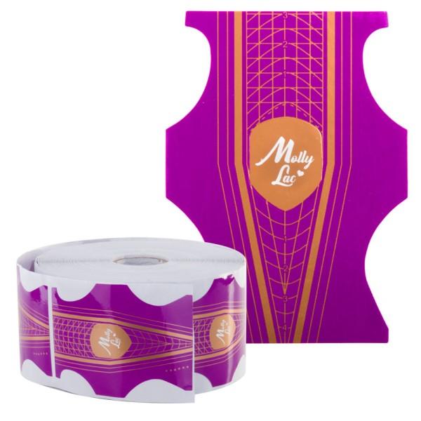 Premium Dual Schablonen 500 Stück violett orange